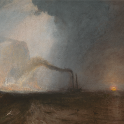 Detail from JMW Turner, Staff, Fingal's Cave