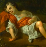 Detail from Joseph Highmore, Hagar and Ishmael, 1746, Foundling Museum