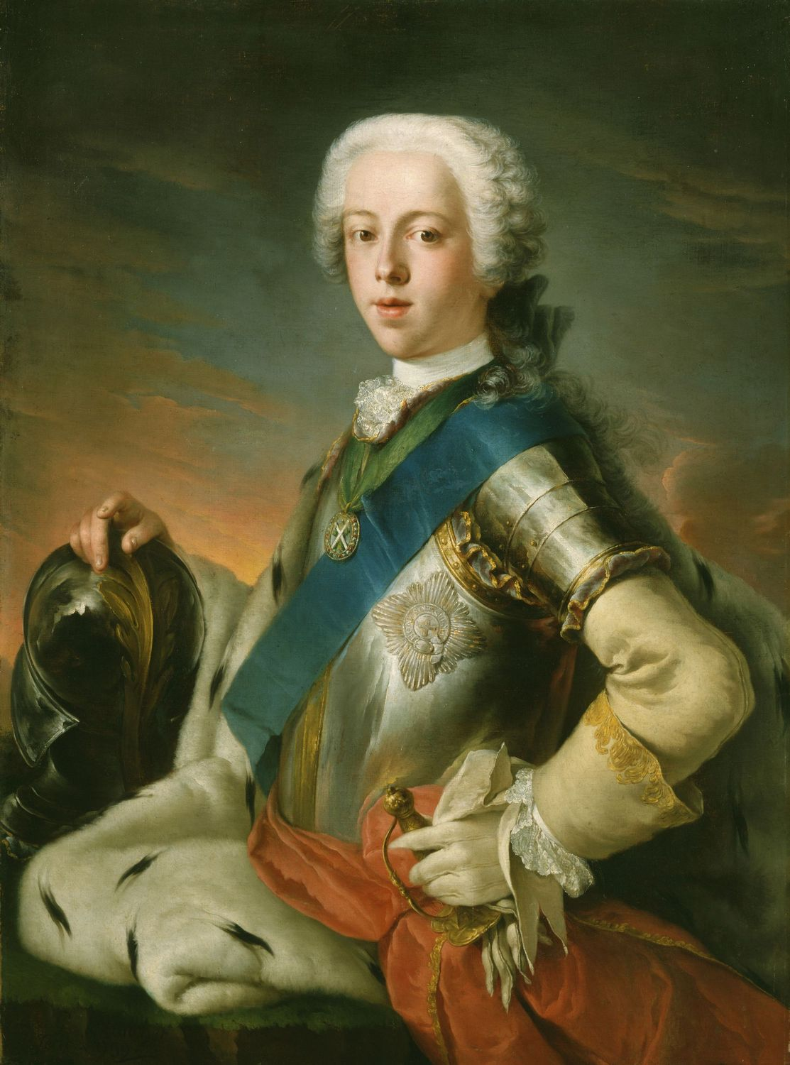 Blanchet, Prince Charles Edward Stuart, 1739, oil on canvas, The Royal Collection